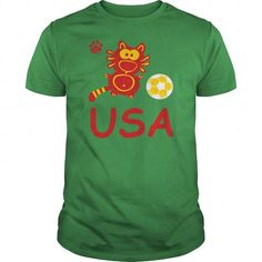 USA Catpaw Design Soccer cat goal Soccer sports