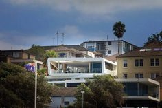 The house is located on the northern flank of the Bronte gully with views towards Bronte beach and the coastline beyond. Our design response was to place the living spaces on the upper floor as better views and more light were available. The bedrooms were located on the middle floor as this was more private and enclosed. The lowest floor has a rumpus area linking the garden and swimming pool to the house. #MHNDU