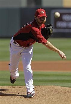Arizona Dback's ace pitcher, Ian Kennedy.