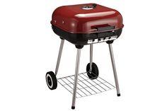 Barbecue Homcom Bbc grill barbecue à charbon acier céramique laque - HOMCOM