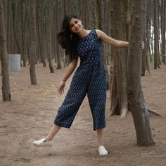 Western Dresses - Tops and Tunics Dunkelblau # Krawatte # Jumpsuit # HandloomJumpsuits # Frock Dress, Jumpsuit Dress, Boho Dress, Saree Dress, Dress Skirt, Western Dresses For Women, Frock For Women, Trendy Dresses, Trendy Outfits