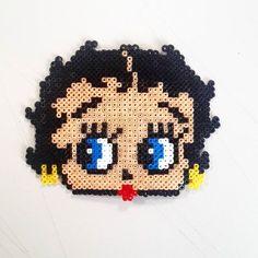 Betty Boop hama beads by bizudesign
