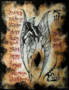DARK MESSENGER cthulhu larp necronomicon magick occult horror
