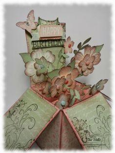 The Serene Stamper: Petite Petals Card in a Box