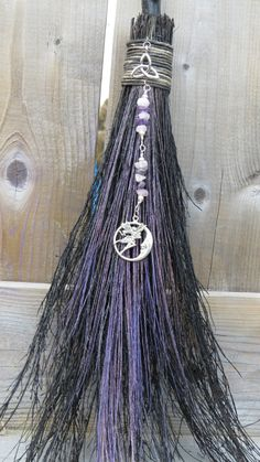 Broom Besom Altar Broom Witches Broom by WayOfTheCauldron on Etsy, $19.99