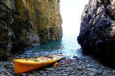 Namhae 남해 Island Kayaking (personal photo)