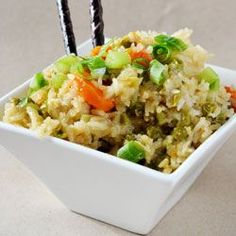 Crockpot Chicken Fried Rice an easy crock pot dinner and healthier than take out. A great family slow cooker recipe.