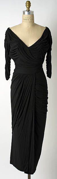 Cocktail dress Designer: Ceil Chapman (American, born 1912) Date: 1950–53 Culture: American Medium: rayon
