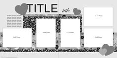 26 Elegant Image of Scrapbook Title Page Ideas Journaling . Scrapbook Title Page Ideas Journaling 1 2 3 Scrapbook Layout January 2017 Organized Creative Mom