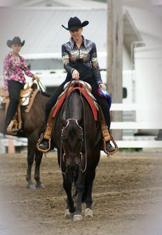 Horse Show-Undoubtedly Western Pleasure Class