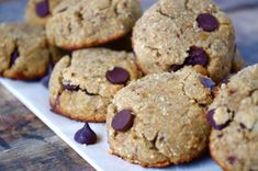 Soft & Chewy Coconut Flour Chocolate Chip Cookies (Gluten Free)
