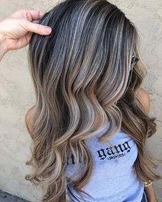 23 Best Ash Brown Hair Color Ideas for 2020 Brown Hair With Ash Blonde Highlights, Ash Brown Hair Balayage, Light Ash Brown Hair, Ashy Hair, Ash Brown Hair Color, Hair Color Highlights, Dark Brown Hair With Blonde Highlights, Ombre Hair, Ombre Look