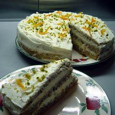 Diós-narancsos torta mascarponekrémmel Recept képekkel -   Mindmegette.hu - Receptek