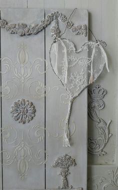 Handmade lace Hearts