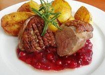 Minutková kachní prsa Steak, Food And Drink, Favorite Recipes, Beef, Chicken, Steaks, Ox, Cubs