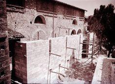 Ascoli com'era: chiesa di Santa Maria Inter Vineas, lavori di ripristino e restauro (1950)