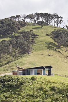Strachan Group Architects, Beam Tail House, New Zealand