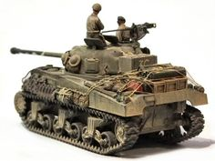 Sherman Firefly IC by Alan Wells Sherman Firefly, Patton Tank, Tank Armor, Military Action Figures, Sherman Tank, Military Armor, Tank Destroyer, Model Tanks, Armored Fighting Vehicle