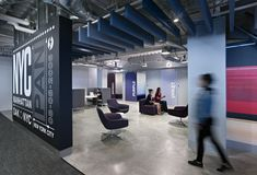 Web radio Pandora designed by Studios Architecture leads to playful and colorful phone booths and recording studios: dynamic!