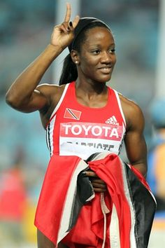 Images of sprinter Kelly-Ann Baptiste of Trinidad & Tobago from different competitions in her career. Trinidad Culture, Black Gazelles, Soca Music, World Athletics, Nbc Olympics, Port Of Spain, Todays Comics, Sweet T, Black Goddess