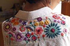Embroidery Bead Flowers 45 Ideas,Embroidery Bead Flowers 45 Ideas Great some ideas for lovely embroidery By embroidering lovely styles, small numbers or lovely edges, DIY fashion desi. Hand Embroidery Stitches, Hand Embroidery Designs, Embroidery Dress, Beaded Embroidery, Embroidery Patterns, Sweater Embroidery, Embroidery On Clothes, Embroidered Clothes, Embroidery Fashion