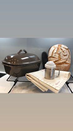 Weizen/Dinkel Vollkornbrot gebacken im Ofenmeister Pampered Chef, Table, Furniture, Home, Decor, Decoration, Ad Home, Tables