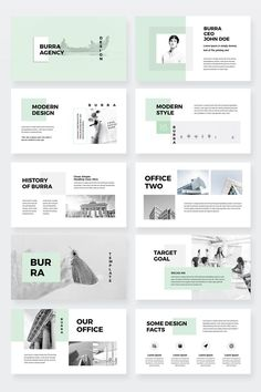 Burra – Clean Simple PowerPoint Presentation Template – like Ppt Design, Design Powerpoint Templates, Design Brochure, Slide Design, Powerpoint Free, Booklet Design, Design Posters, Layout Template, Templates Free