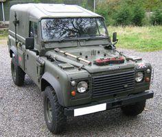 British Army 110 Wolf Land Rover