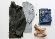 Layering basics with a few special pieces makes for seven favorite wearable outfits for fall. All sources are linked.