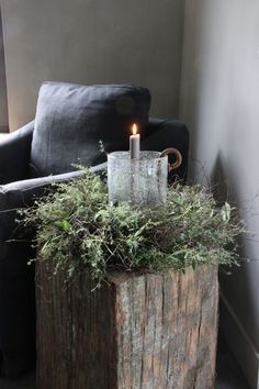 Krans met tijm, salim en olijf – Hillary'sHome – Heike Giesen – Wreath with thyme, salim and Natural Christmas, Noel Christmas, Christmas 2019, Simple Christmas, Christmas Wreaths, Christmas Crafts, Minimalist Christmas, Decoration Christmas, Farmhouse Christmas Decor