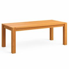 Mesa de Jantar em madeira maciça   LINEAR   MUMA   muma.com.br