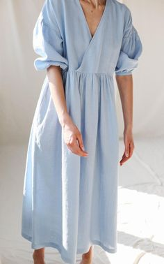 Linen Dresses, Fashion Outfits, Womens Fashion, Fashion Hacks, Fashion Tips, The Dress, Lounge Wear, Summer Dresses, My Style