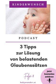 Hast du dich schon mal gefragt, wie deine negativen Glaubenssätze deinen Kinderwunsch beeinflussen können und dich sogar daran hindern könnten, schwanger zu werden? In dieser Podcast Folge erfährst du, wie du negative und belastende Glaubenssätze erkennst und du erhältst 3 Tipps, wie du diese auflösen kannst. Hör dir die Podcast Folge gleich an und mache den Weg frei für dein Wunschkind. Kinderwunsch I Podcast I Schwanger werden I Kinderwunsch Coach #babywunder Baby Wunder, Getting Pregnant Tips, Family Life, Parenting, Pregnancy, Thoughts
