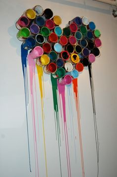 Would be a cool thing to do at home in my own art room where I paint too :) would love this