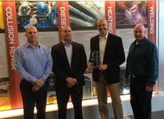 Penske Truck Leasing in Denver received the Employer of the Year award from Lincoln Technical College. Global Supply Chain, Used Trucks, Career Opportunities, Lincoln, Denver, Diesel, College, University, Diesel Fuel