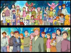 digimon adventure adults - Buscar con Google