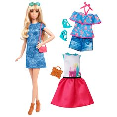 Barbie® Fashionistas™ 43 Lacey Blue Doll & Fashion - Tall  - Shop.Mattel.com