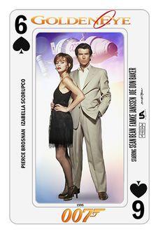 Bond Cards series collage by PMitchell #piercebrosnan #izabellascorupco…