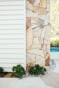 Dream Home Design, House Design, Outdoor Living, Indoor Outdoor, Outdoor Decor, Garden Design, Landscape Design, Hamptons House, Dream House Exterior
