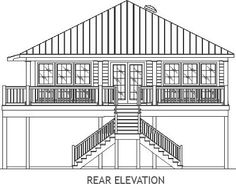17 Best Elevated House Plans Images Elevated House Plans