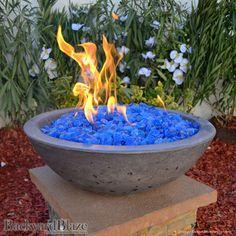 Concrete Fire Bowls Round 21''