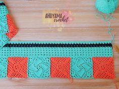 TUTORIAL GRATIS | Las cortinas de mis sueños - Clase 3 - Ahuyama Crochet