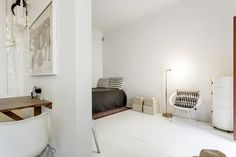 White, light and bright in Stockholm