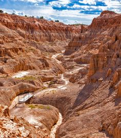 Awesome view of Cathedral Gorge State Park, a beautiful desert of deep canyons and gorges | 10 Best Places To Visit In Nevada