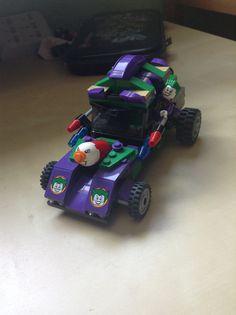 Lego joker car custom By Andrew Peterson