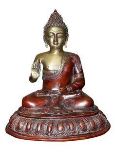 Mogulinterior Blessing Buddha Spiritual Statue, Hindu God Buddhist Brass Sculpture by Mogul Interior, http://www.amazon.com/dp/B00EAH345W/ref=cm_sw_r_pi_dp_j..isb0Y62JZ3