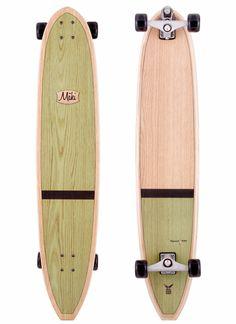 Maki Longboards: Guru Surf-Skateboard Model - $325 |  surf skate, longboard skateboard, longboard, longboard girl, present ideas