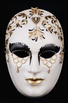 Mata Hari Mata Hari venetian mask in papier mache. Handcrafted according to the original Venice carnival tradition. Manifactured in Venice by the famous venetian masters. Each item is provided with certificate of authenticity. Harlequin Mask, Venitian Mask, Venetian Masquerade Masks, Diy Mask Masquerade, Venetian Carnival Masks, Venice Mask, Ceramic Mask, Mata Hari, Mask Painting