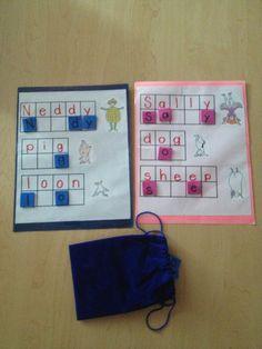 Silly Sally literacy game for preschool