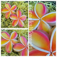 Plumeria Flower - Greeks-N-Sweets | Cookie Connection